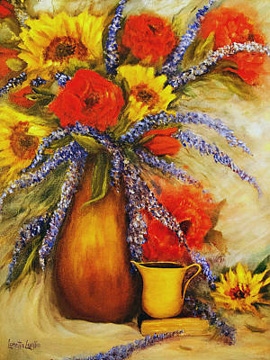 Painting - Mixed Bouquet Still Life by Loretta Luglio