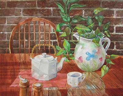 Painting - Mixed Company by Tony Caviston