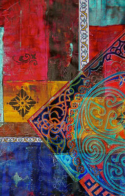 Painting - Mixed Motifs 9 by Corporate Art Task Force