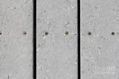 Stellar Interstellar - Mixed Plastic Resin Plank Walkway by Lee Serenethos