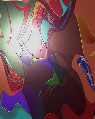 Mixup Abstract 14 Art Print