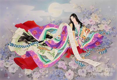 Digital Art - Miyabi by Haruyo Morita