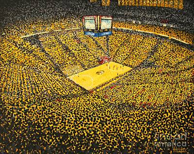 Painting - Mizzou Arena by Terry  Hester