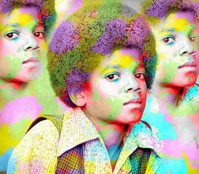 Micheal Digital Art - MJ by Rosa Ashley