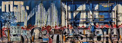 Graffiti Photograph - MJ by Sylvia Thornton