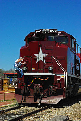 Photograph - Mkt Katy Rr Locomotive by Robyn Stacey