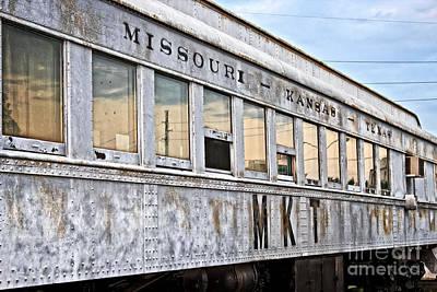Photograph - Mkt Train Passanger Car by Ms Judi