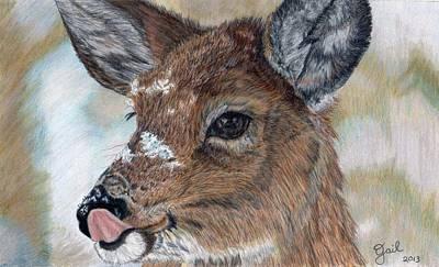 Shower Head Painting - Mmmmm  Good by Gail Seufferlein