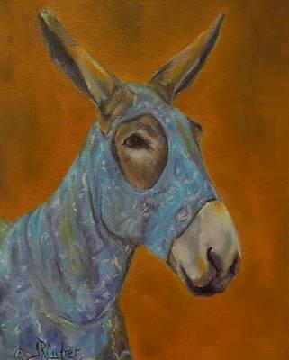 Mo Vision,donkey Art Print