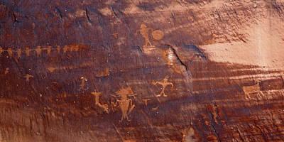 Moab Petroglyph Art Print