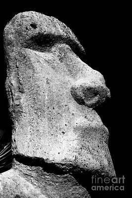 Photograph - Moai by John Rizzuto