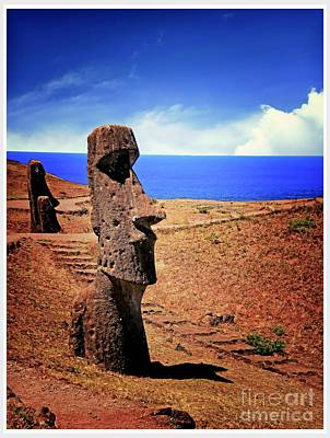 Moais Of Easter Island  Original by Stefano Senise