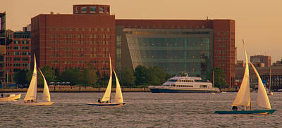 Photograph - Moakley Courthouse At Sunset by Caroline Stella