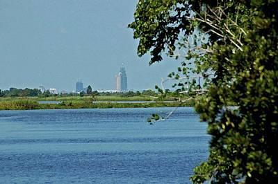 Mobile Alabama Skyline Original