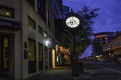 Digital Art - Mobile Clock Service Above Self by Michael Thomas