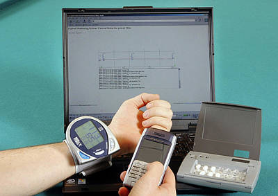 Pill Box Photograph - Mobile Healthcare Devices by Ibm Research