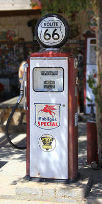 Gas Pump Wall Art - Photograph - Mobilgas Special - Tokheim Pump by Mike McGlothlen