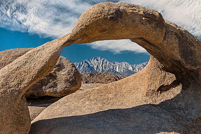 Mobius Arch And Whitney Art Print