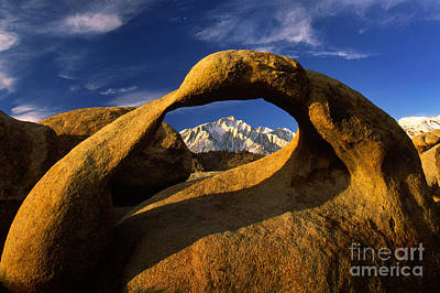Alabama Hills Photograph - Mobius Arch by Inge Johnsson
