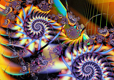 Digital Art - Mobius Strip by Mary Almond