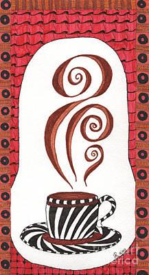 Emerging Artist Drawing - Mocha by Anita Lewis