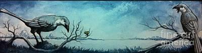 Mockingbird Mixed Media - Mockingbird Hunt by Jason  Jenkins