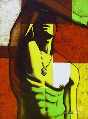 Mod Male Art Print by Joseph Sonday