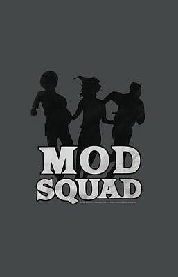 Counterculture Digital Art - Mod Squad - Mod Squad Run Simple by Brand A