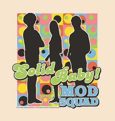 Counterculture Digital Art - Mod Squad - Solid Mod Pattern by Brand A
