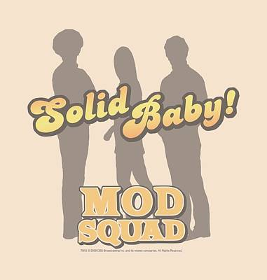 Counterculture Digital Art - Mod Squad - Solid Mod by Brand A