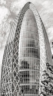 Photograph - Mode Gakuen Cocoon Tower by For Ninety One Days