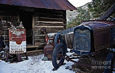 Photograph - Model A Ford And Owl Soup by Lee Craig