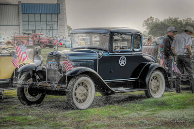Photograph - Model A Ford  by Dyle   Warren
