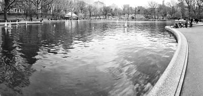 Photograph - Model Boat Lake by Dave Beckerman