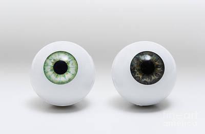 Photograph - Model Eyes by GIPhotoStock