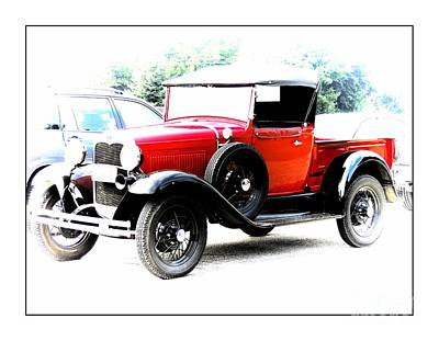 Photograph - Model  Ford Truck 1920's by Marcia Lee Jones