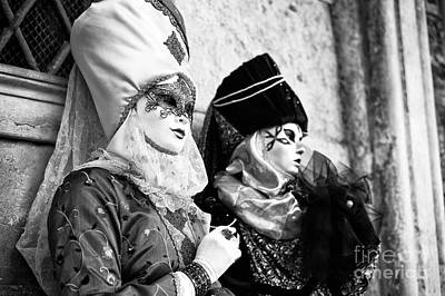 Photograph - Model Headdress by John Rizzuto