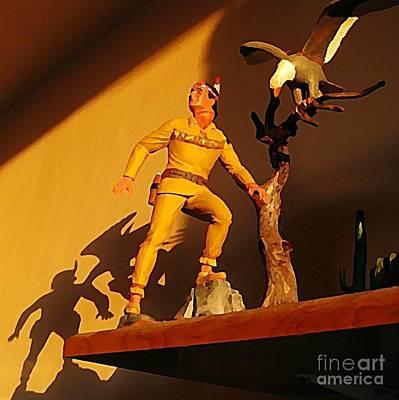 Lone Ranger Painting - Model Kit Still Life by John Malone