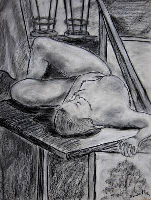 Drawing - Model Life by Kendall Kessler