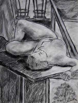 Drawing - Model Life by Kendall Kessler