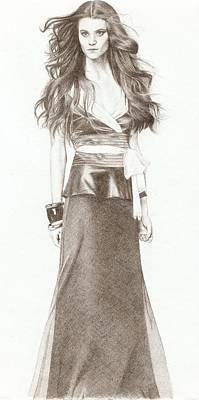 Mng Drawing - Model by Nur Adlina