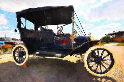 Painting - Model T Ford by Liane Wright