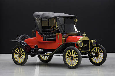 Model T Ford Photograph - Model T Ford by Panoramic Images