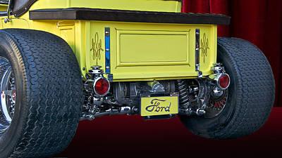 Model T Roadster Pick Up II Art Print by Dave Koontz