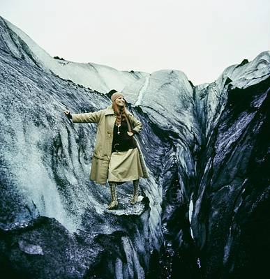 Photograph - Model Wearing A Bonnie Cashin Ensemble by John Cowan