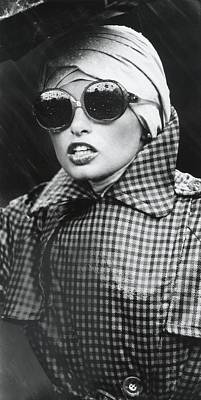 Model Wearing Sunglasses And A Turban Art Print