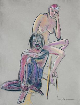 Painting - Models 1 by Asha Carolyn Young