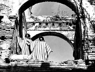 Photograph - Models And Arches by Robert  Rodvik