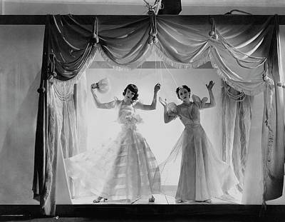 Marionettes Photograph - Models As Marionettes by Cecil Beaton