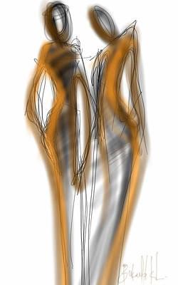 Digital Art - Models by Khaya Bukula